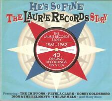 HE'S SO FINE THE LAURIE RECORDS STORY 1961 - 1962 / 2 CD BOX SET