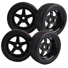 9mm Offset RC 1:10 On-Road Car64mm Foam Rubber Tyres Tires Wheel Rim 8030-6081