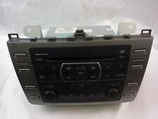 09 10 MAZDA 6 Radio Stereo Receiver (w/o navigation system; AM-FM-CD)
