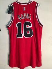Adidas Swingman 2015-16 NBA Jersey Bulls Pau Gasol Red sz 2X