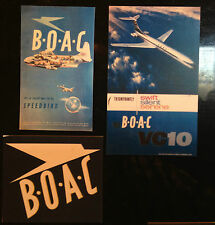 B.O.A.C. AIRLINES    3 X FRIDGE MAGNETS