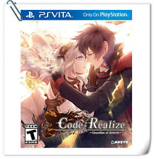 PSV Code:Realize Guardian of Rebirth SONY PlayStation VITA Adventure Aksys Games