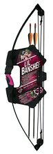 Barnett 1072P Barnett Lil Banshee Jr. Pink Archery Set ( Bow and Arrow kit )