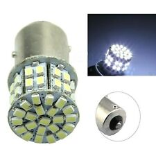 2x Ba15s 1156 White Car Rear Turn Light Signal Ultra-bright 50 SMD LED Bulb 12V