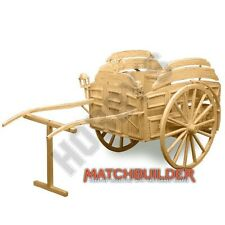 Milk Float Horse Drawn Victorian Matchstick Model Kit Hobby's Matchbuilder