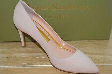 NIB RUPERT SANDERSON Womens BLAIR Pink Crackle Leather Pumps Size 11 EUR 41
