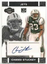 2007 TOPPS CO-SIGNERS ROOKIE AUTOGRAPH Chansi Stuckey #RACS