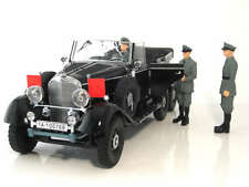 SIGNATURE MODELS 1938 MERCEDES G4 WITH 3 FIGURES BLACK 38202 1:18*Last One!