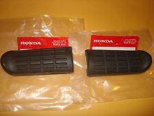 Honda CBR600F VF1000R CBR1000F front foot peg rubber set Oem