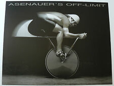 ASENAUER'S OFF-LIMIT ORIGINAL 1987 WALL ART POSTER BICYLCLE CYCLING LODI