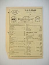 fiche technique  L'EXPERT AUTOMOBILE - BMW 528 i