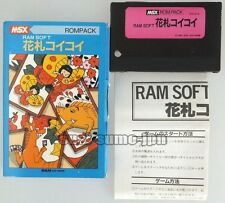 "MSX ROM PACK""HANAFUDA KOI KOI""BOXED JAPAN"