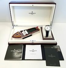 Frederique Constant Runabout Stainless Steel Chronograph Watch NEW!! MSRP $3,395