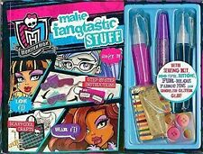 MONSTER HIGH KIDS MAKE FANGTASTIC STUFF SEWING KIT