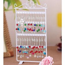 blanco 48 Hole Earrings Ear Studs Display Rack Stand Holder Jewelry Organizer