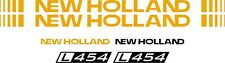 NEW HOLLAND L454 skid steer  L 454 Replacement DECAL / sticker kit made in USA
