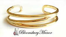 """Tiffany & Co. 18k GIALLO ORO ZIG ZAG Bracciale polsino braccialetto si adatta a 6.25""""/15.8cm"""