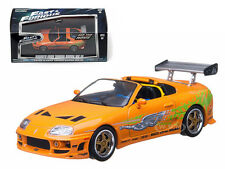 "BRIAN'S 1995 TOYOTA SUPRA MK 4 ""THE FAST AND FURIOUS"" 1/43 GREENLIGHT 86202"