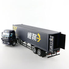 ORIGINAL MODEL 1:50 ISUZU TRUCKS,TRAILER,container,Deppon logistics