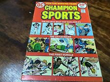 CHAMPION SPORTS #1 (DC COMICS BRONZE/HIGH GRADE/0615139) COMIC BOOK LOT OF 1