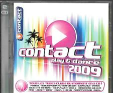 2 CD COMPIL 41 TITRES--PLAY & DANCE 2009--PITBULL/BLACK EYED PEAS/GUETTA/RIO/