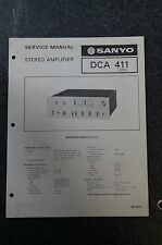 Sanyo DCA 411 Service Manual