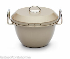 Paul Hollywood Non Stick 1 litre Steamed Pudding Bowl Basin & Lid