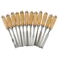 12pcs Wood Carving Woodworking Tool Woodcraft Carving Knife Hand Chisel #1
