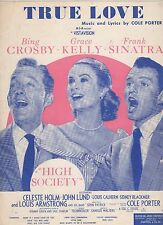 True Love from the movie: High Society  US Sheet Music