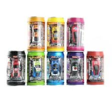 1x Coke Can Mini Speed RC Radio Remote Control Micro Racing Auto Giocattolo Regalo Nuovo UK