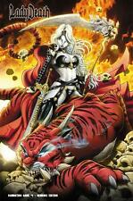 Lady Death Damnation Game Ltd 150 Demonic Variant Signed Coffin Comic bp9