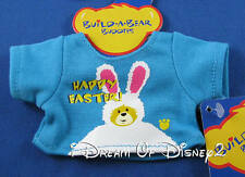 BUILD-A-BEAR MINI EASTER CHAT-TEE SHIRT SMALLFRYS BUDDIES EASTER CLOTHES TOP NEW