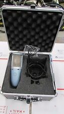 AKG Perception 220 Condesor Cable Microphone With Case Nice