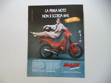 advertising Pubblicità 1990 MALAGUTI FIFTY TOP 50