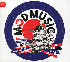 MOD MUSIC SKA, SOUL, BLUES & JAZZ - 2 CD BOX SET - MIDNIGHT TRAIN & MANY MORE