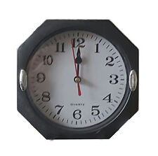 Small 6in Wall Clock - Ideal for traveling, Etc.