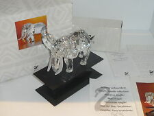 Perfect boxed certificate Swarovski African Elephant 1993 SCS retired 169970