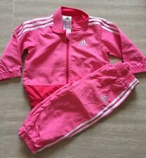 -Adidas Baby Girl's Toddlers Shell Suit Tracksuit  Months  6-9 months NEW