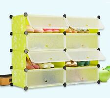 SUPER- PLASTIC SHOE RACK 8 LAYERS DOUBLE-LKL-201 BEST QUALITY