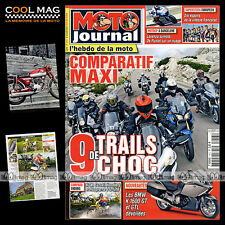 MOTO JOURNAL N°1913 TRIUMPH TIGER 1050 SE YAMAHA XTZ SUPER TENERE BMW R 1200 GS