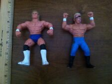 Lot of 2 Vintage WCW Wrestling Figures Sting & Lex Luger WWE WWF TNA ECW Free SH
