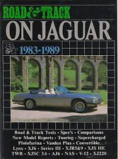 Jaguar XJ6 S3 XJS V12 & 6-CYL Coupe Cabriolet Convertible XJ220 Roadtest Libro