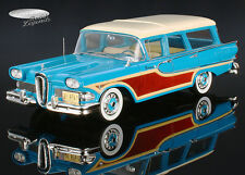 Edsel Station Wagon 4 Doors 1958 blau/beige Spark Model 1:43 S2963