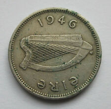 1946 Irish Silver Colour Threepence