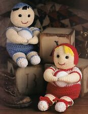 RARE Tiny Tots Hugging Ball Dolls/Toy/ Crochet Pattern INSTRUCTIONS ONLY