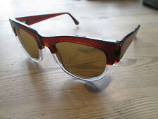 LGR Maputo Oki ni brown frame sunglasses. Hand made in Italy. Limited edition 40