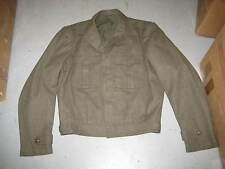 USMC WW2 KOREAN WAR IKE VANDEGRIFT JACKET SIZE 42 LONG TUNIC WOOL MARINE CORPS
