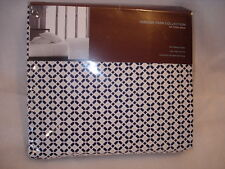 Hudson Park 500 Thread Count Printed Tiles TWIN XL FITTED Sheet GREY NEW