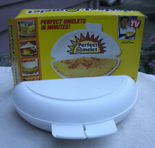 Perfect Omelet Microwave Omelet Maker,plastic,original box -cooking,cookware