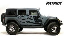 Jeep Wrangler Rubicon Custom Vinyl Graphics Decal 2/4 Kit 2007-2016 PATRIOT